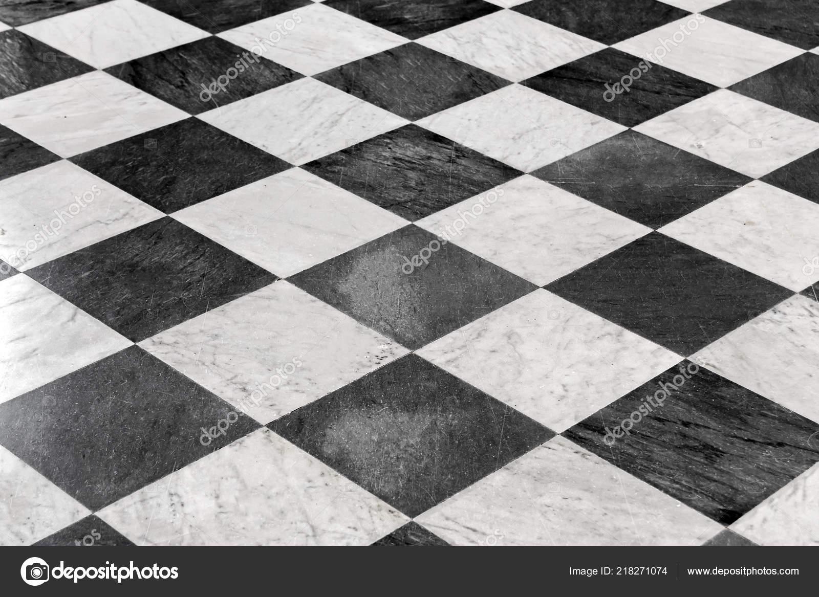 Carrelage Damier Noir Blanc Fond Photographie Watman