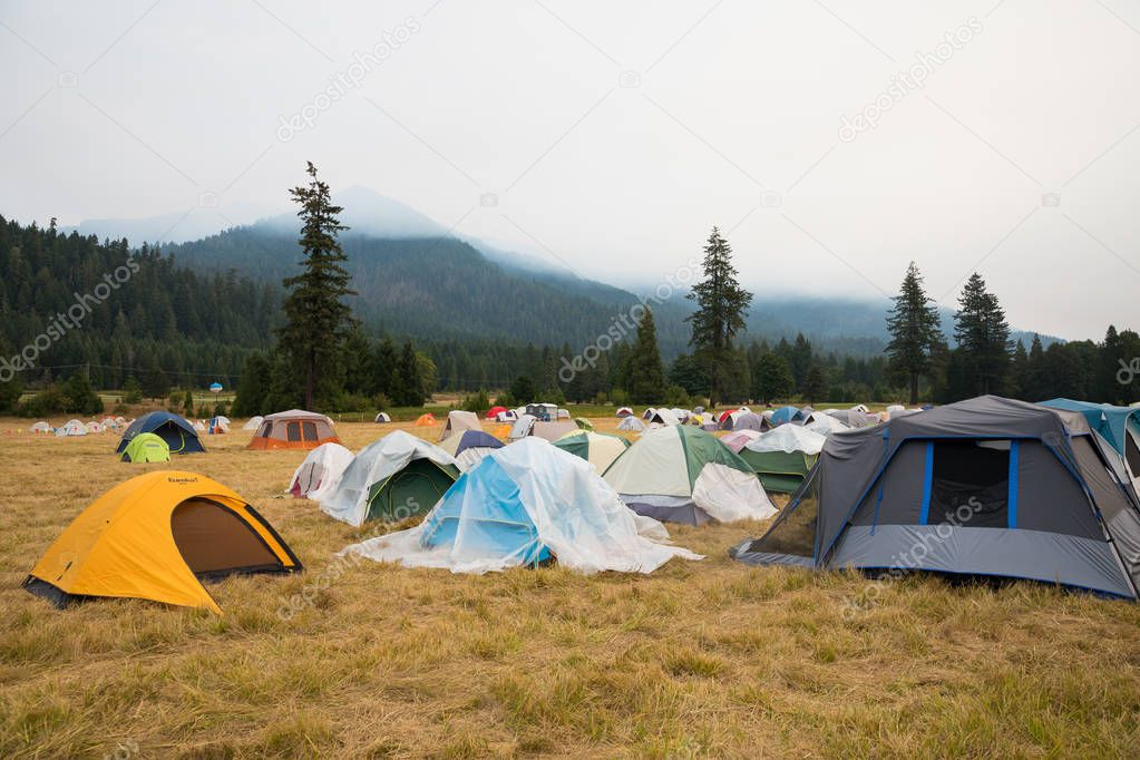 Terwilliger Fire Camp in Willamette National Forest