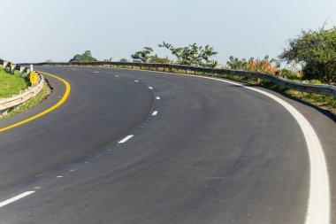 Road Highway Corner Bend