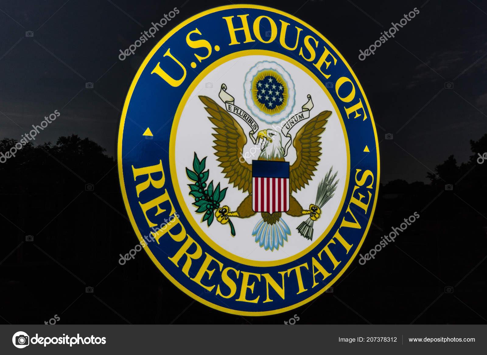 Mishawaka Circa August 2018 Seal United States House Representatives Stock P O