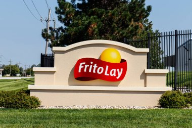 Frankfort - Circa August 2018: Frito-Lay snack food plant. Frito-Lay is a subsidiary of PepsiCo that manufactures chips and other salty foods I
