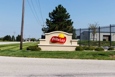 Frankfort - Circa August 2018: Frito-Lay snack food plant. Frito-Lay is a subsidiary of PepsiCo that manufactures chips and other salty foods II