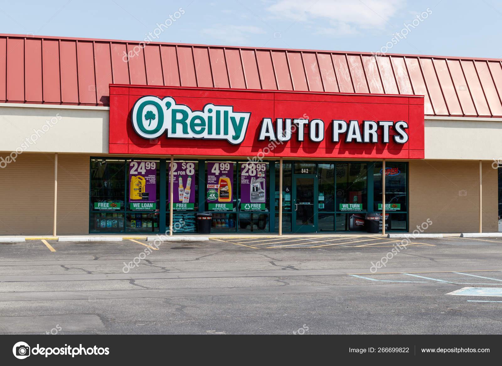 Orally Auto Part Near Me >> Tipton Circa May 2019 O Reilly Auto Parts Store O Reilly