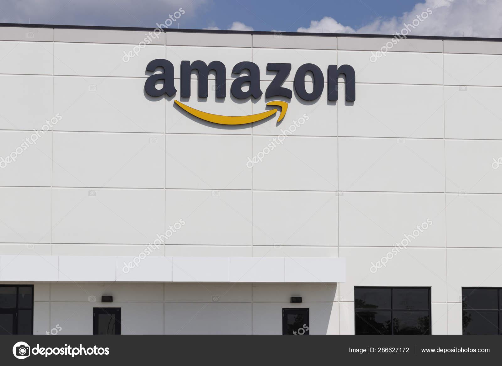 Greenwood - Circa July 2019: Amazon Receiving Center  Amazon