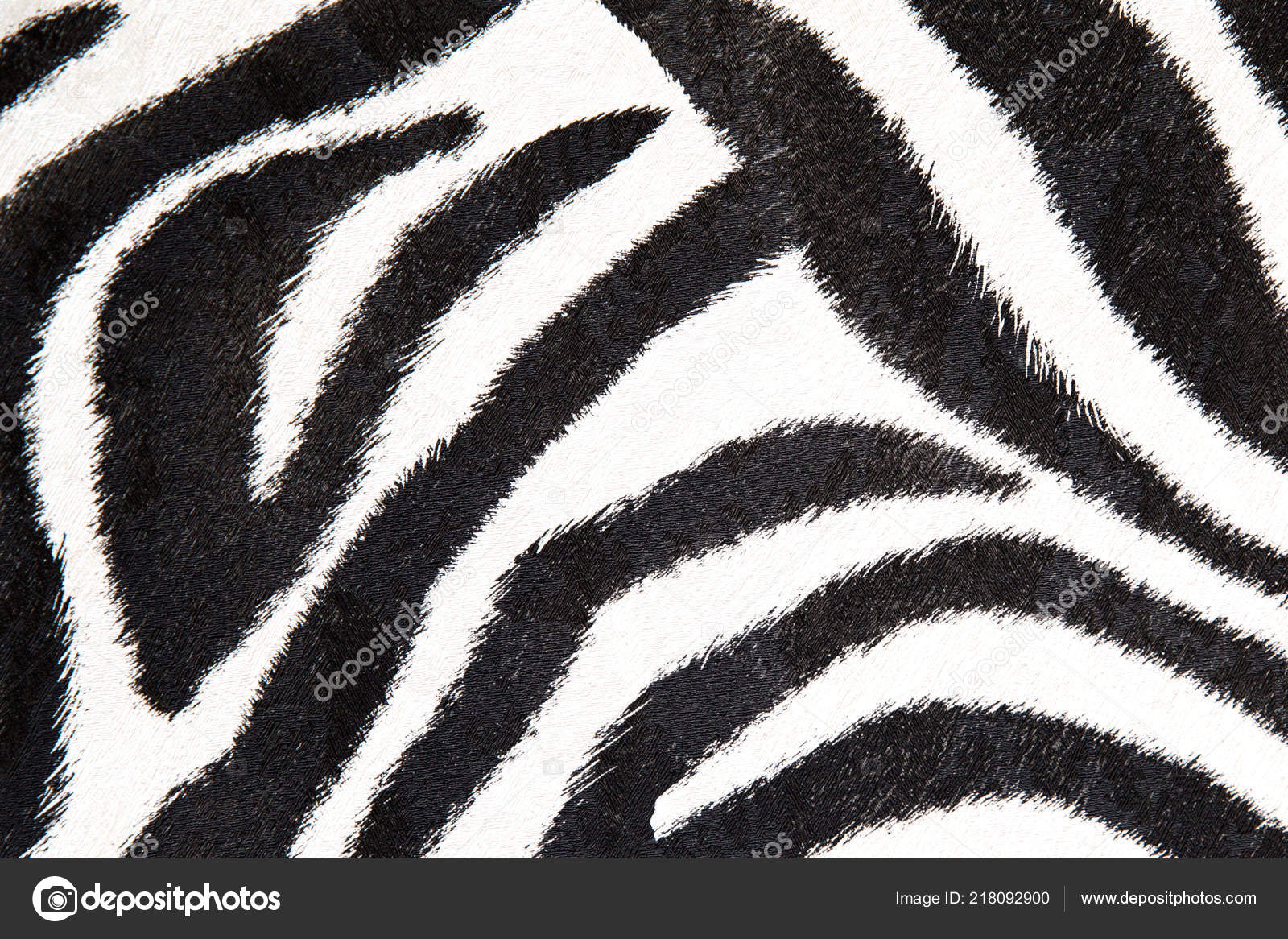 Zebra Background Black And White Texture For Your Design Stock Photo C Mariakray 218092900