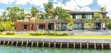 Luxurious mansion in Miami Beach, florida, USA