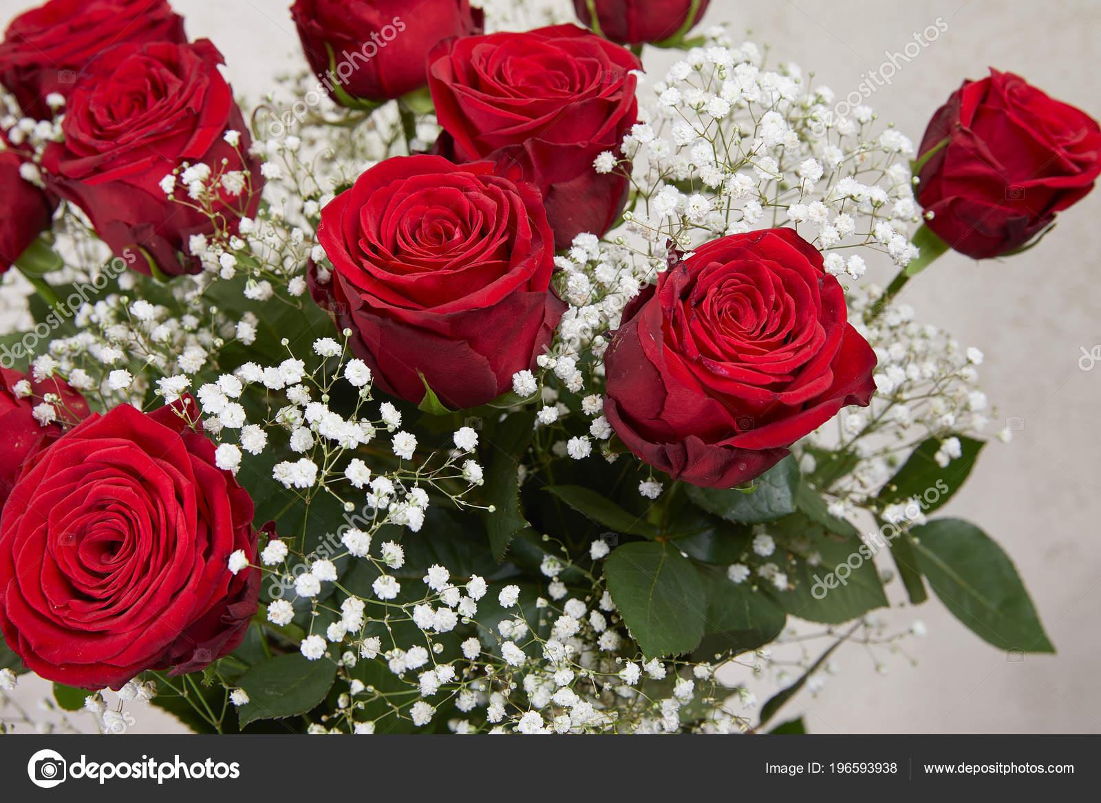 Beau Bouquet Roses Rouges