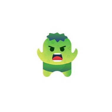 Character Monster Design   Green Character
