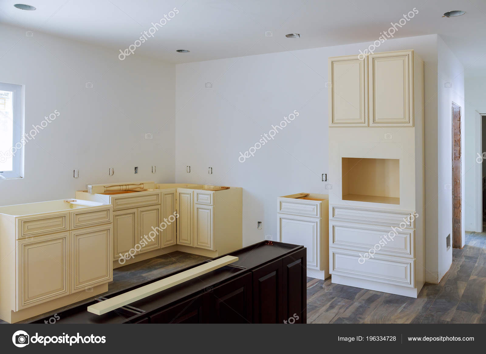Muebles Cocina Instalación Esquina Ciega Gabinete Contador Isla ...