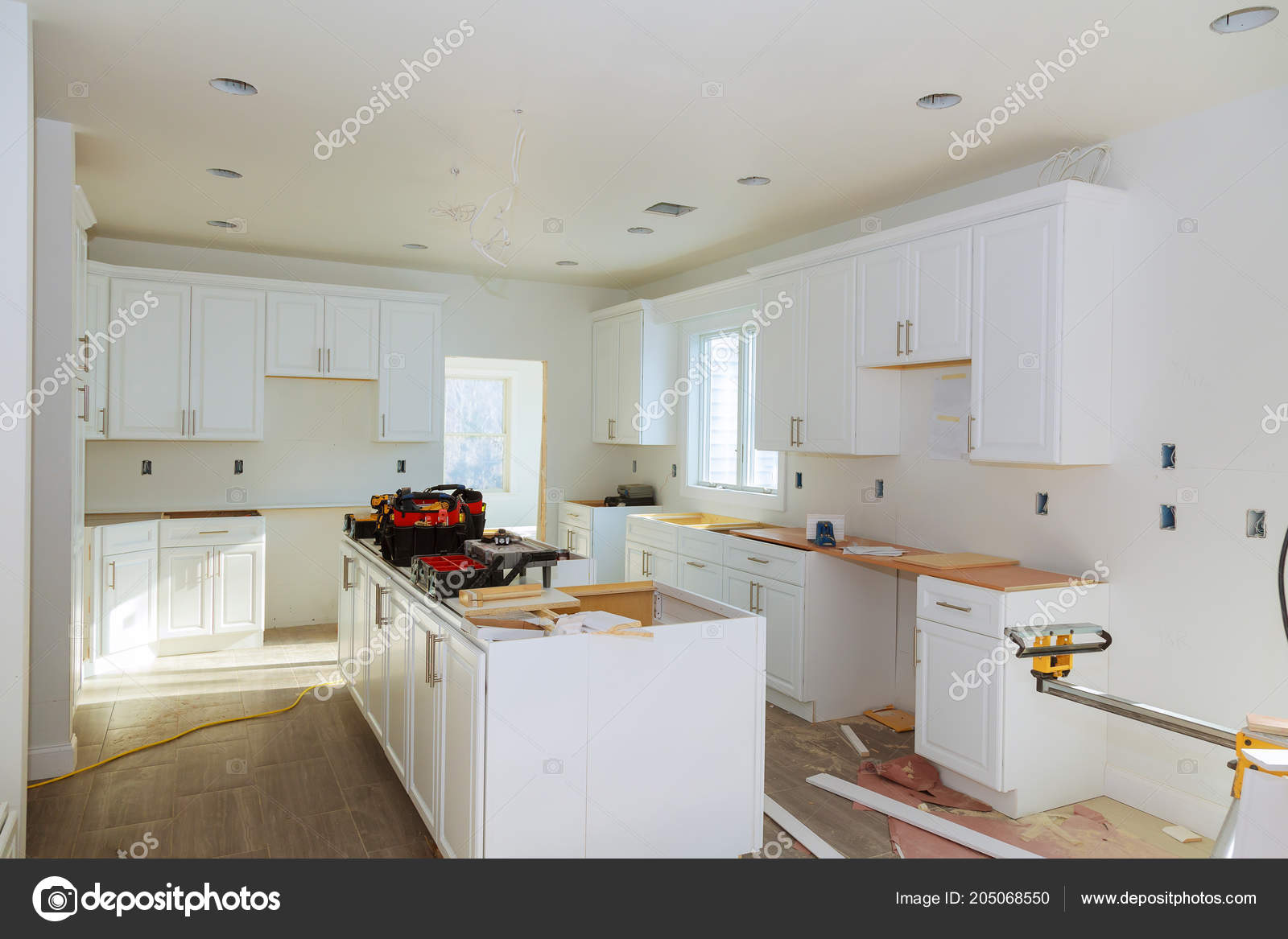 Installing New Induction Hob Modern Kitchen Home Improvement