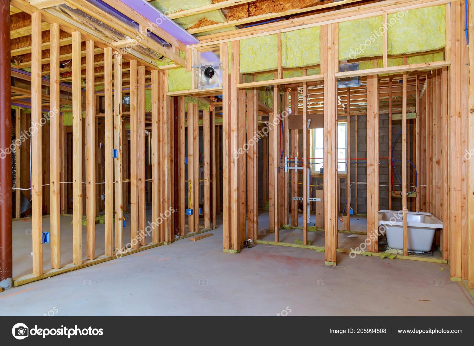 Wood Framing Work Progress Wood Framing Walls Ceiling Floor Joist