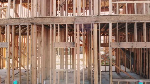 Nová výstavba domu Framed novostavby domu budování země