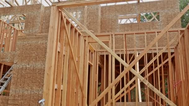 Haus-Fachwerk für ein fortschreitendes Haus eine neue Entwicklung Holz