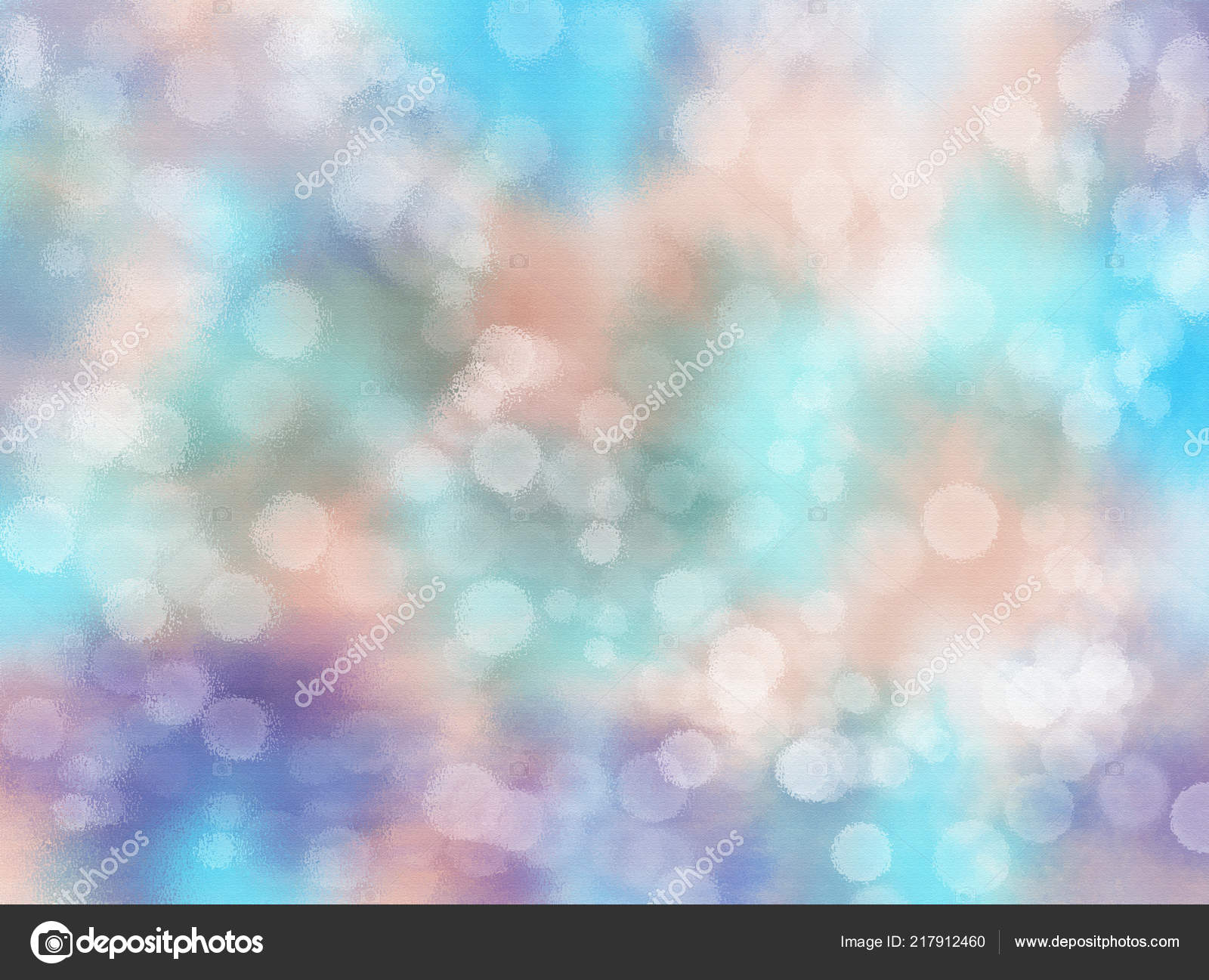 Abstract Seamless Pattern Bubble Bokeh Background Texture