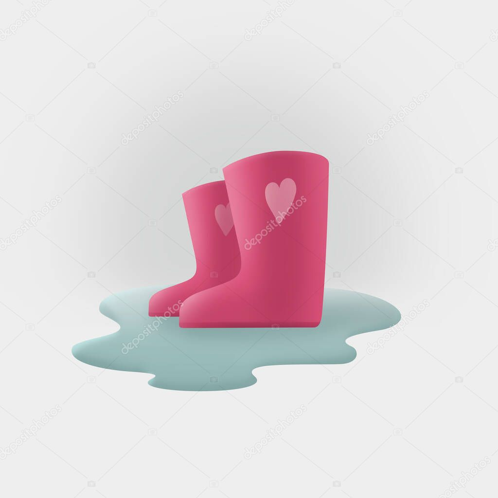 Rubber Boots Icon Gray Monochrome Style, Style Icons, Boot, Rubber PNG and  Vector with Transparent Background for Free Download
