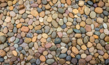 Pebbles stones background and texture