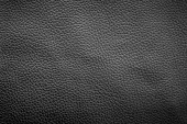 Photo abstract black leather texture background