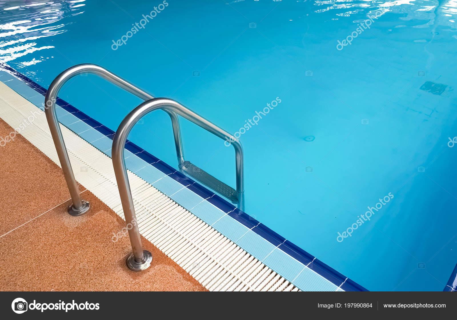 Swimming Pool Rail Ladder — Stock Photo © weerapat #197990864
