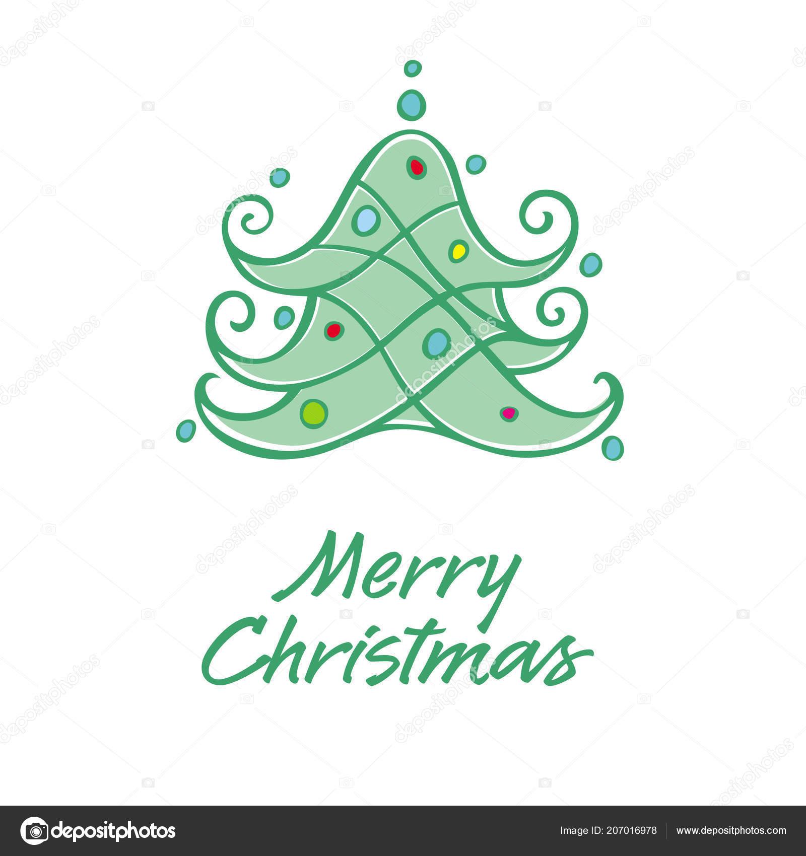 Merry Christmas Card Scalable Editable Vector Illustration Eps ...