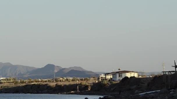 Bahia de Los Angeles, Baja California, Mexico, shot across the bay