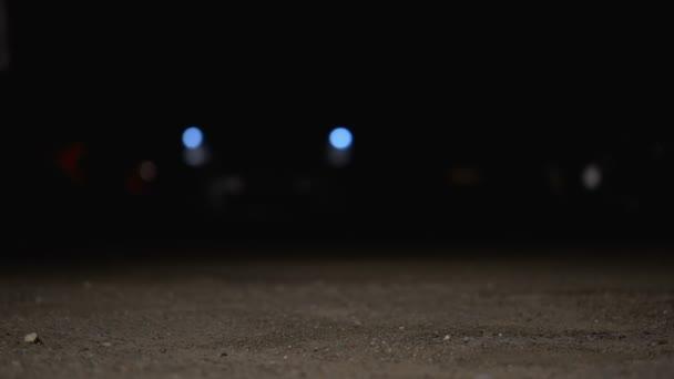 Stationnement Dans Court Vol Après Auto Nuit Qui Homme Volée Yxn688
