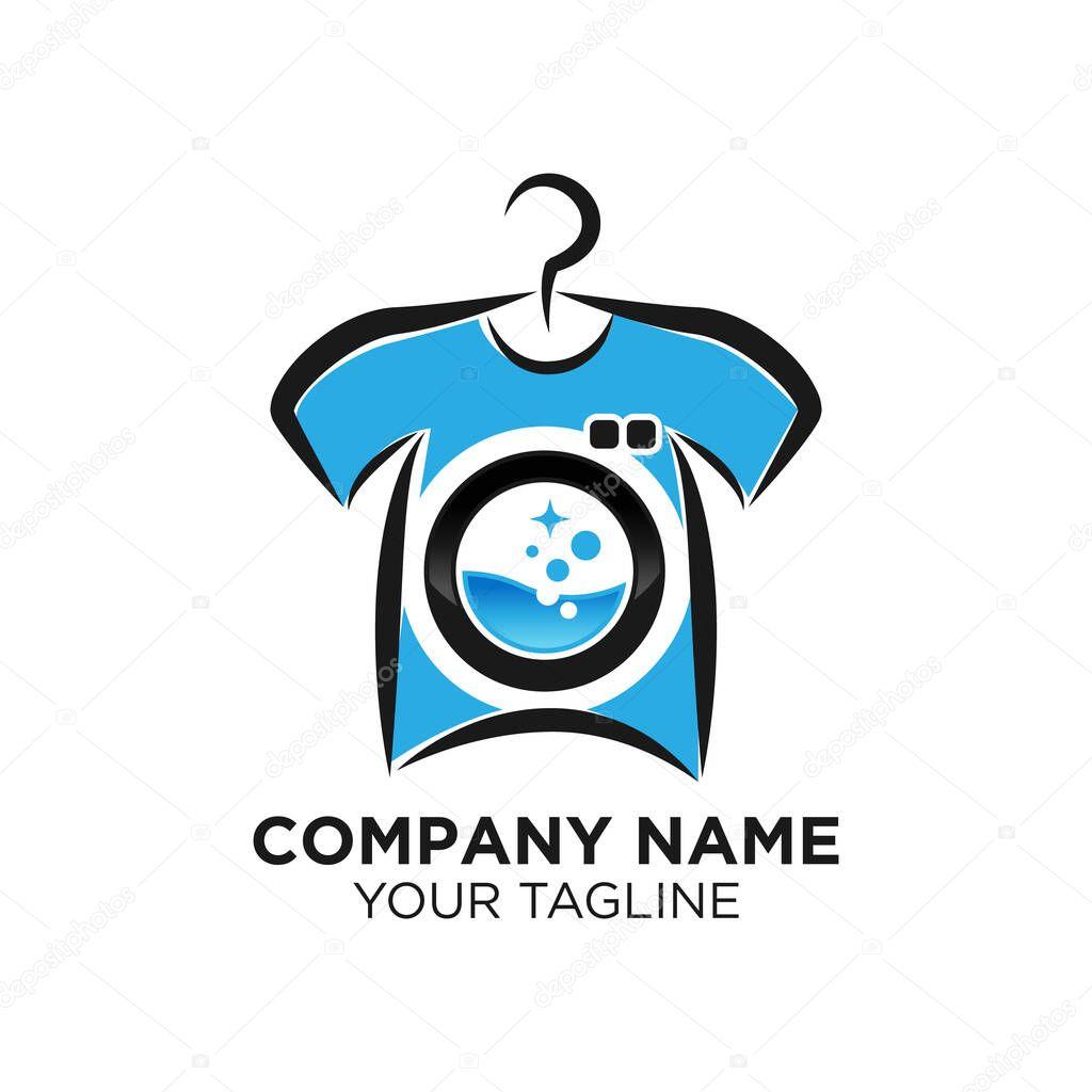 washing laundry logo template design vector emblem design concept creative symbol icon eps 10 premium vector in adobe illustrator ai ai format encapsulated postscript eps eps format wdrfree