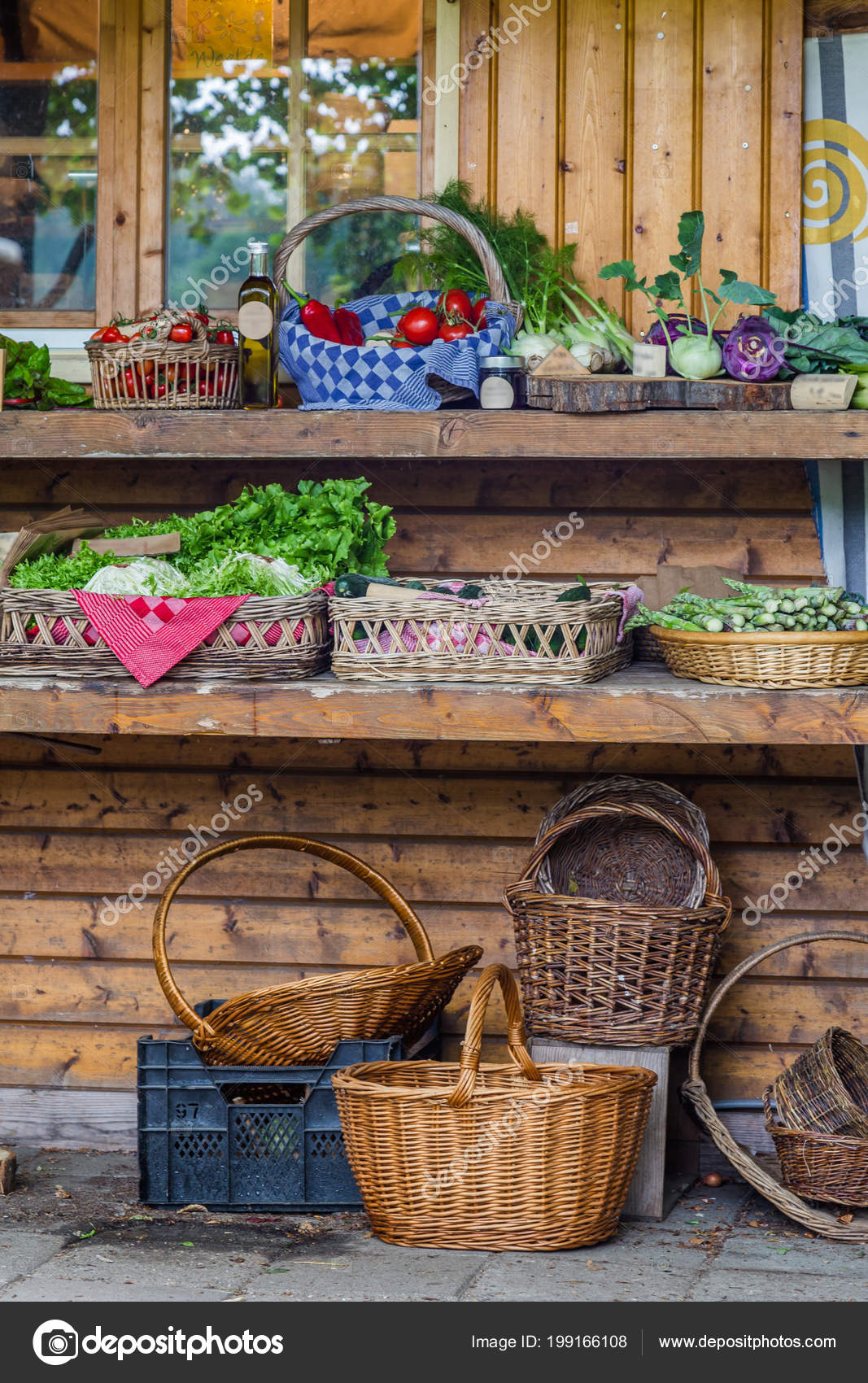 Vegetable Garden Shop Local Community Garden City — Stock Photo ...