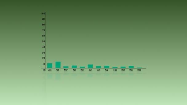 obchodní růst 3D sloupcový graf. Obchodní diagram graf. Investiční růst. Investiční záležitost. Správa investic. Finanční strategie koncepce.