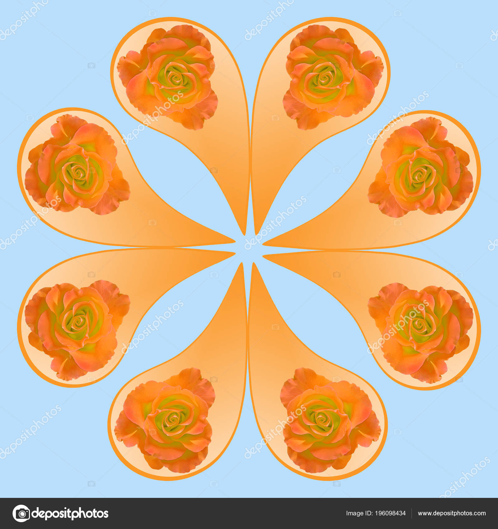 Ornamental Pattern Mandala Floral Elements Mandala Symbol Meditation