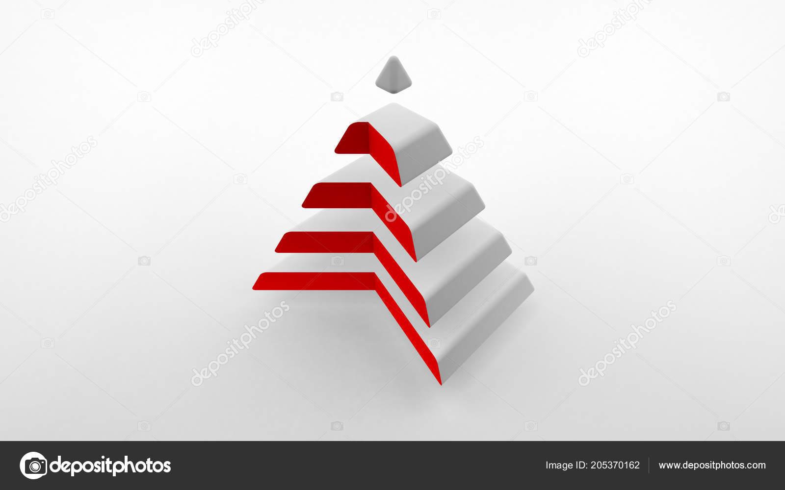 Immagini Piramidi Logo Logo Sfondo Bianco Una Piramide Bianca Con