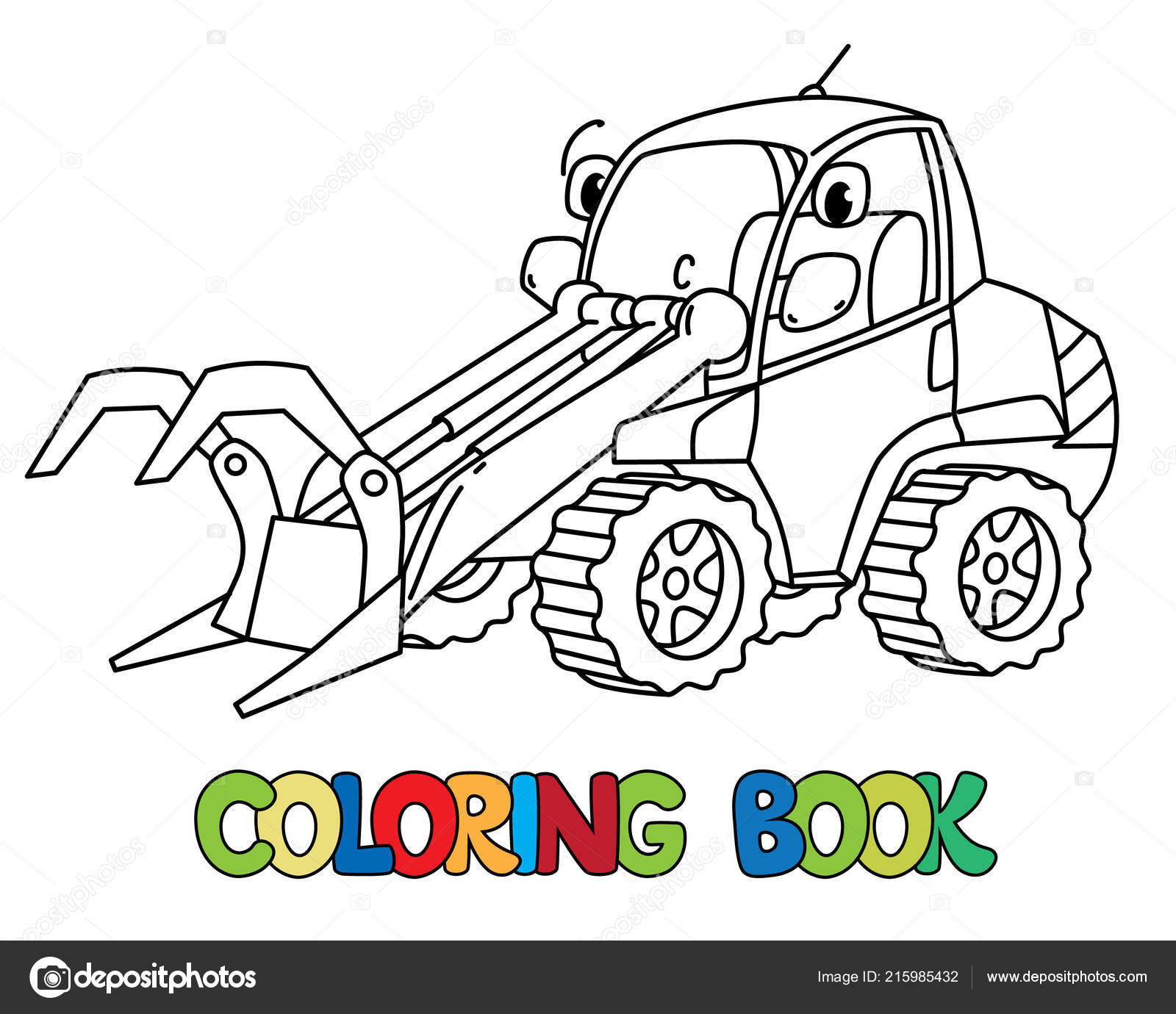 Komik Günlük Işleyicisi Araba Boyama Kitabı Gözlü Stok