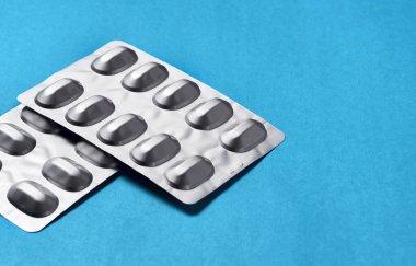 Pills, medicine, medicine in the package.