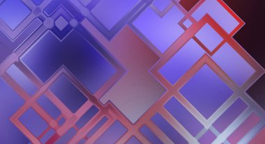 Angular geometrical abstract background. Color geometric pattern. Square shape colorful wallpaper. Modern shiny geometric texture with linear pattern.