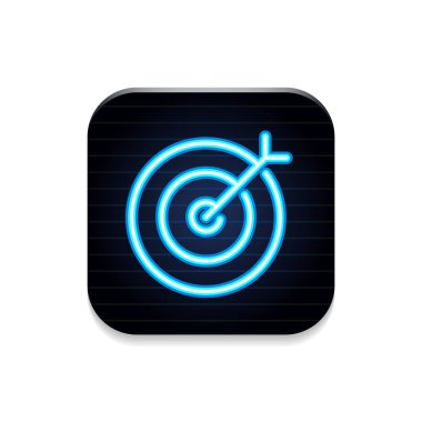 Target - Neon App Icon
