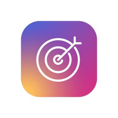 Target - Gradient Modern App Button
