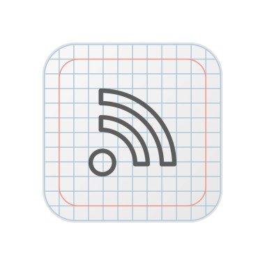 RSS - Grid App Button