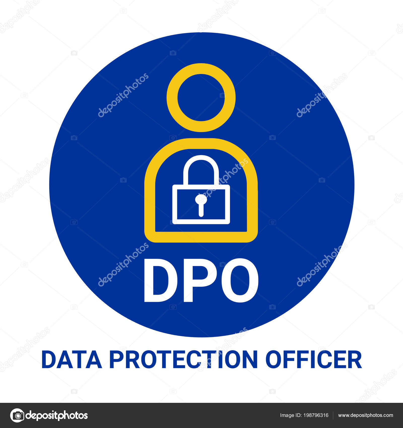 Dpo Data Protection Officer Il Ration Stock P O