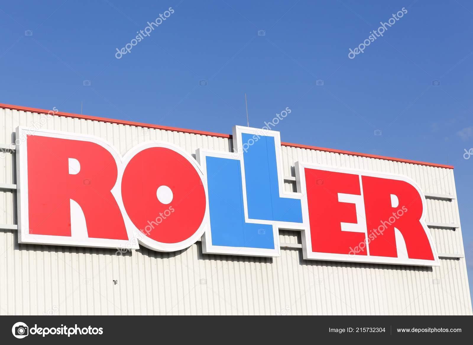 Bremen Deutschland September 2018 Roller Logo Der Wand Roller Ist