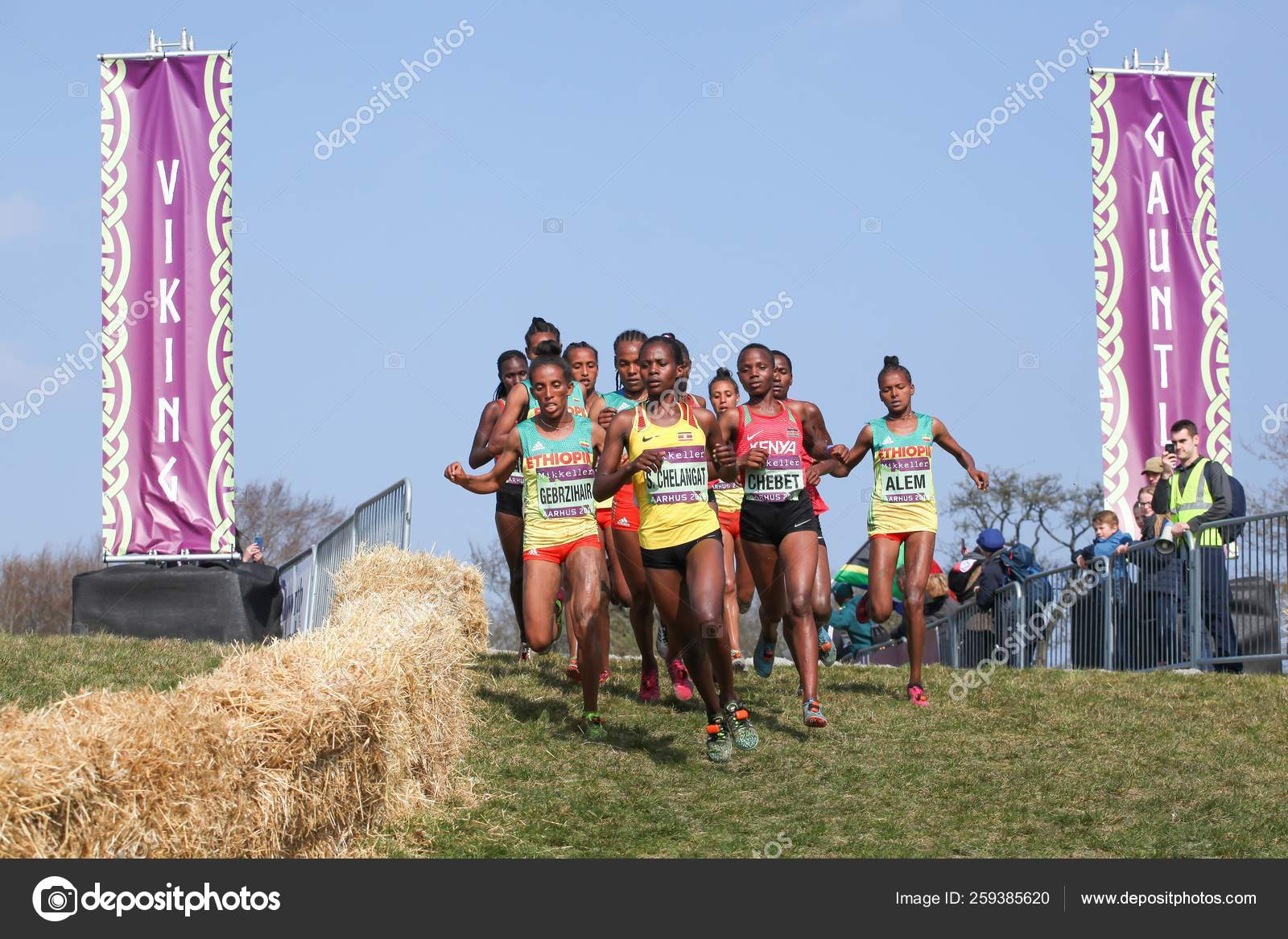 Aarhus Denmark March 2019 Iaaf Mikkeller World Cross Country