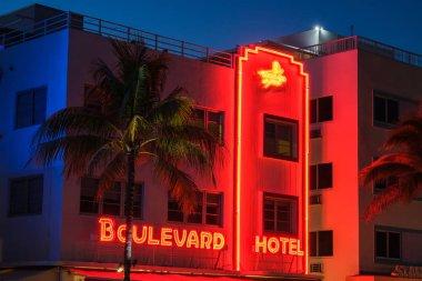 Miami Beach Night Art Deco