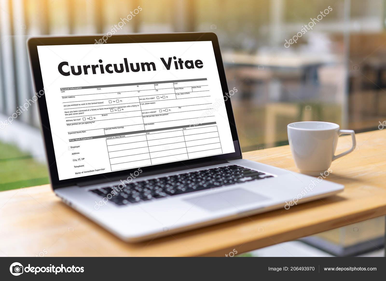 Curriculum Vitae Job Interview Concept Business Resume Business