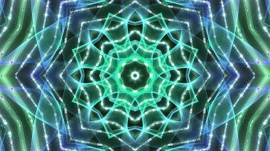 Kaleidoscopic party lights background