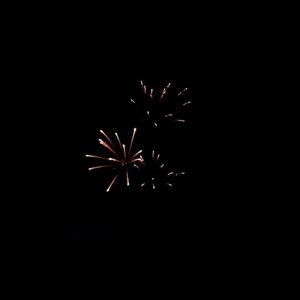 abstrakter Hintergrund mit Feuerwerk, festlicher Stil.