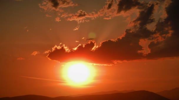 arany panorama sunset Időközű 4k