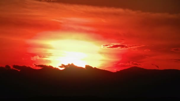 západ slunce časová prodleva 4k