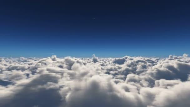 letět nad nad mraky