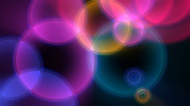 circles background color abstract