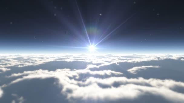 sen létat v oblacích 4k