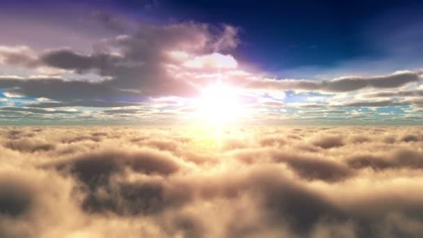 nad mraky slunce 4k
