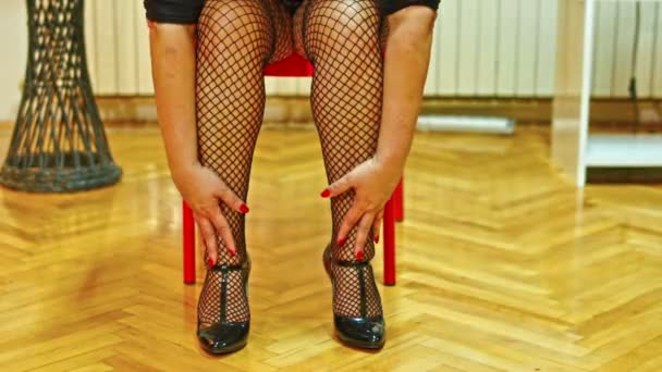 szexi nő harisnya 4k